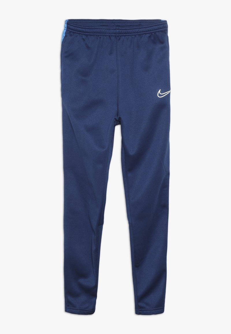 Nike Performance - ACADEMY WINTERIZED - Tracksuit bottoms - coastal blue/photo blue/reflective silver