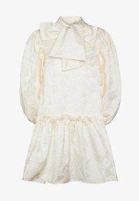 Sister Jane - LEADING LADY OVERSIZED MINI DRESS - Sukienka koktajlowa - cream - 4