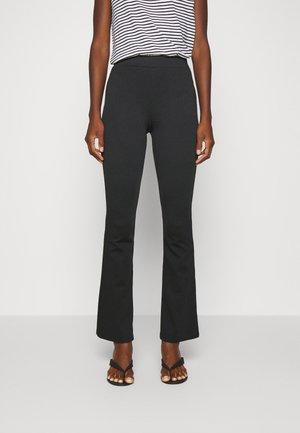 PONTE TROUSER - Pantalon classique - black
