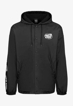CLUB OVAL DOT - Summer jacket - black