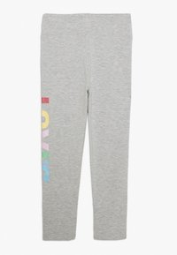 Levi's® - HIGH RISE GRAPHIC - Leggings - Trousers - light gray heather - 1