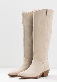 Bronx - RAIDDAN - Cowboy/Biker boots - sand - 4