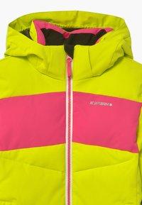 Icepeak - LAGES UNISEX - Snowboard jacket - aloe - 4