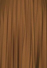 Esprit - PLISEE SKIRT - Pleated skirt - toffee - 2