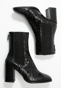 Topshop - HUNTINGTON BOOT - Classic ankle boots - black - 3