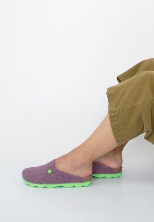 HELSINKI FELT - Slippers - bordeaux