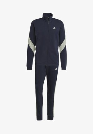 Cotton TS TRACKSUITS SPORTS TOP:REGULAR-BOTTOM:REGULAR TRACKSUIT - Trainingsanzug - blue