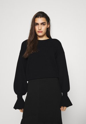 MANDY SLEEVE - Sweter - black