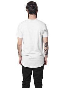 Urban Classics - SHAPED LONG TEE DO NOT USE - Basic T-shirt - white - 1