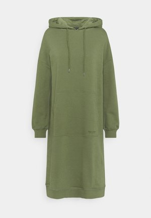 DRESS HOOD - Day dress - dried sage