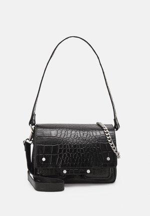 HONEY CROCO DELUXE - Handbag - black