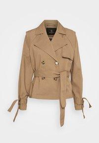 Bruuns Bazaar - LILJA SOFINE  - Summer jacket - roasted grey khaki - 0