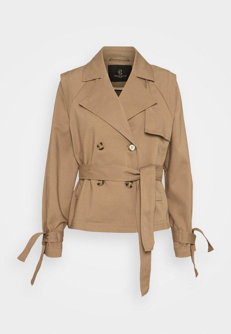 Bruuns Bazaar - LILJA SOFINE  - Summer jacket - roasted grey khaki