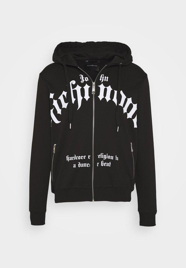 TIVAP - veste en sweat zippée - black