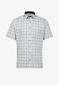 Eterna - MODERN FIT - Shirt - olive/blue - 3