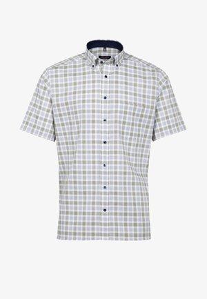 MODERN FIT - Shirt - olive/blue