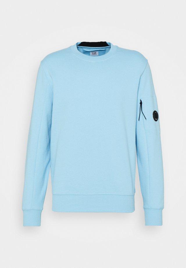 DIAGONAL RAISED - Sweatshirt - sky blue