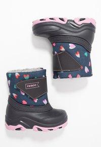 Friboo - Snowboots  - dark blue - 0