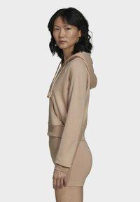 adidas Originals - Zip-up sweatshirt - beige - 3