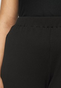 Glamorous Curve - FLARE TROUSERS - Trousers - black - 4