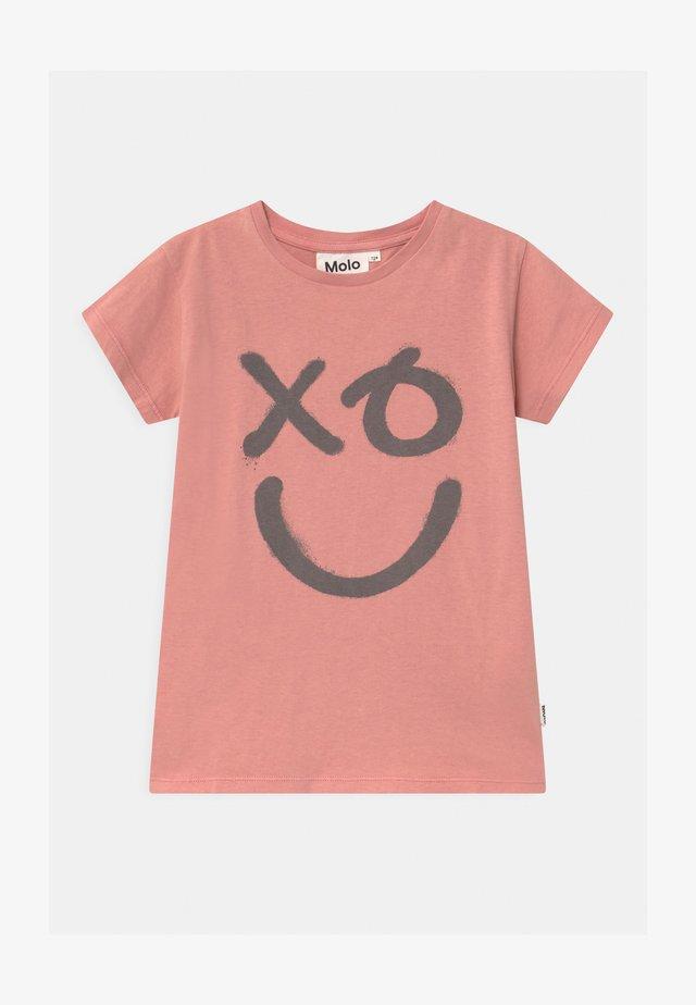RANVA - Print T-shirt - light pink