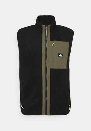 SHALLOW WATER GILET - Waistcoat - black