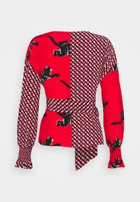 Diane von Furstenberg - TAMARA  - Pitkähihainen paita - red - 1