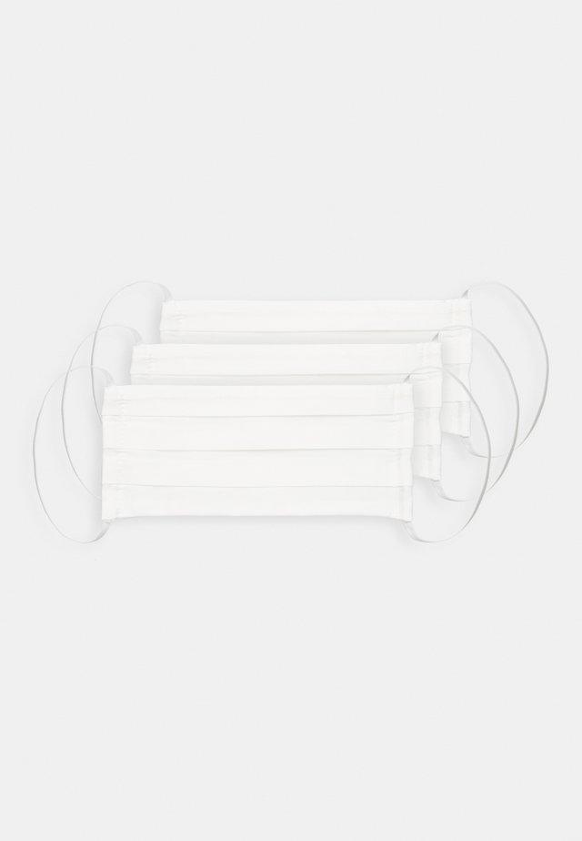 3 PACK - Munnbind i tøy - white