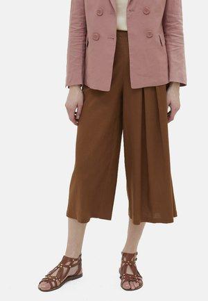 Trousers - marrone