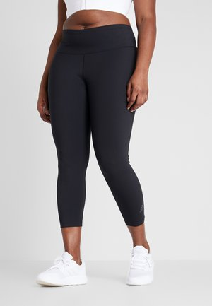 SOLID 7/8 - Legging - black