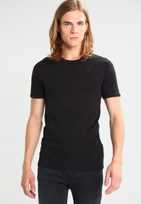 G-Star - BASE 2 PACK  - T-shirt basic - black - 1