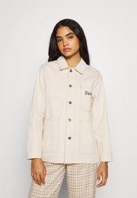 Dickies - HALMA CHORE - Short coat - ecru - 0