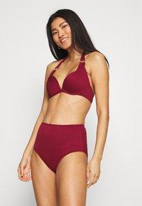 Hunkemöller - GOLDEN RINGS RIO - Bikini bottoms - red - 1