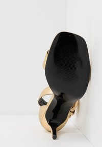 Versace Jeans Couture - High heeled sandals - oro - 6
