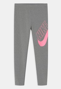 Nike Sportswear - FAVORITES - Legíny - carbon heather - 0