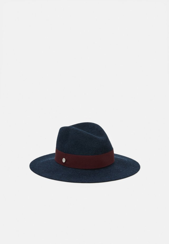 WOMEN HAT HARDWARE GROSGRAIN - Hat - dark blue/bordeaux