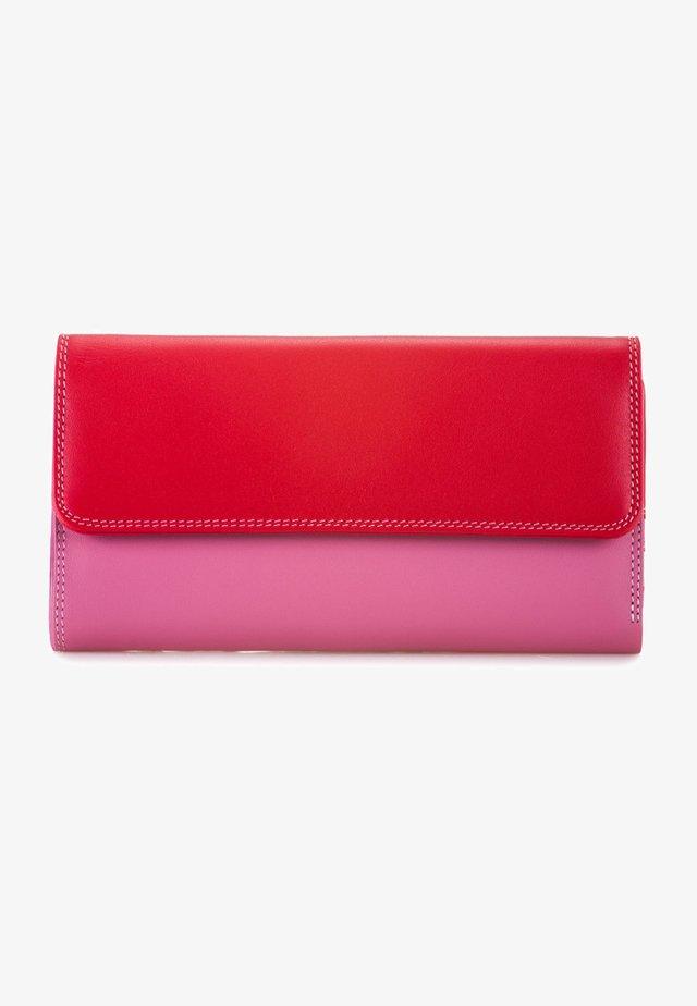 TRI-FOLD - Wallet - ruby