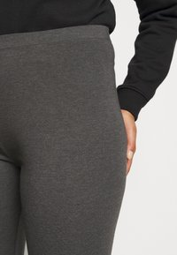 Even&Odd Curvy - 2 PACK - Legíny - black/grey
