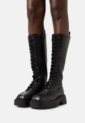 KOJO - Lace-up boots - black