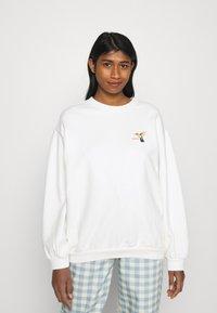 Levi's® - GRAPHIC MELROSE SLOUCHY - Sweatshirt - sugar - 0