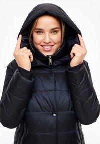Triangle - MIT KAPUZE - Winter coat - navy - 3