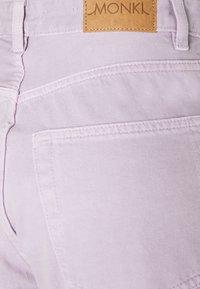 Monki - KYO - Jean droit - purple - 2