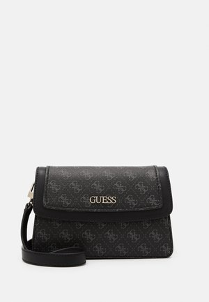 CAMY CROSSBODY FLAP - Schoudertas - coal multi