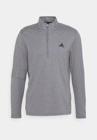 adidas Golf - THREE STRIPE ZIP LEFT CHEST - Sweatshirt - grey three melange - 0