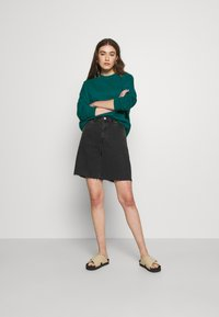 Even&Odd - BASIC OVERSIZE SWEATSHIRT - Bluza - teal - 1