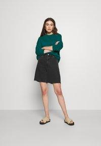 Even&Odd - BASIC OVERSIZE SWEATSHIRT - Sweatshirt - teal - 1