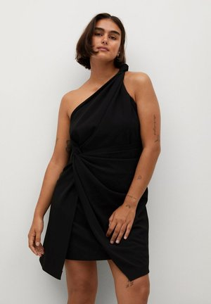 NATASHA - Jersey dress - schwarz