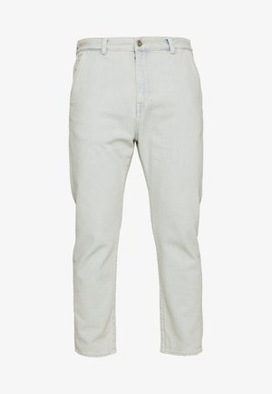 UNIVERSE PANT CROPPED - Relaxed fit jeans - light blue denim