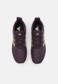 adidas Performance - RUNFALCON UNISEX - Neutral running shoes - noble purple/copper metallic/pink tint - 3
