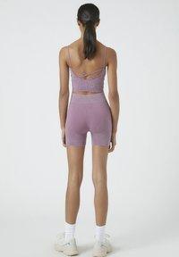 PULL&BEAR - Shorts - dark purple - 2